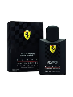 Scuderia Ferrari Black Limited Edition EDT for Men 125 ml -  online shopping for Perfumes