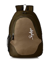 olive polyster backpack -  online shopping for backpacks