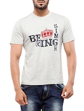 white cotton tshirt -  online shopping for T-Shirts