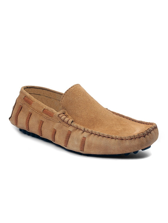 11695bdadf6 Buy Tan Leather Slip On Loafers by Bacca Bucci - Online shopping for ...