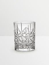 Glass Crystal Whiskey Tumblers (Set Of 4) - By