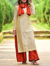 beige kurta set -  online shopping for Sets