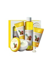 Oriflame Pure Nature Tropical Fruits Facial Kit 150 Ml(Set Of 4) - By