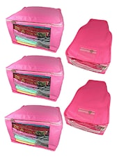 pink rexene utility bag (set of 5) -  online shopping for Utility bags