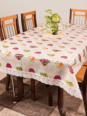Azalea Gripper 6 Seater PVC Anti Slip Table Cover , Multicolor ,Pack Of 1 - By - 12253516