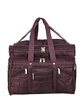 brown leatherette luggage -  online shopping for Luggage