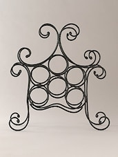 Black Iron Wire Basket - By - 1226457