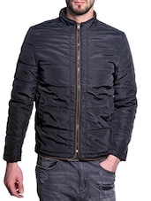 black polyester casual jacket -  online shopping for Casual Jacket