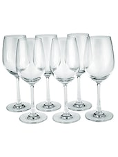 Elegant White Wine Glasses (Set Of 6) - By