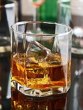 Glass Lowball Whiskey Tumblers (Set of 6) -  online shopping for Glass Sets