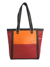 Multicolor Faux Leather Shoulder Bag - By - 1228317