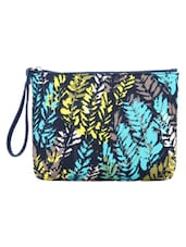 Multi Color Printed Cotton Wristlet - By
