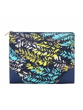 Multi Color Tone Printed Leatherette Pouch - By