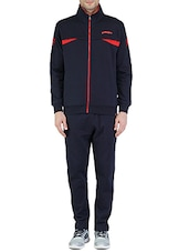 blue color, fleece track suit -  online shopping for Track Suits