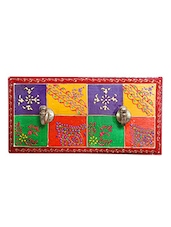 Sawai Wooden Multi color 2 wall hook hanger -  online shopping for Key Holders
