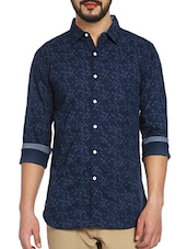 NOBLE FAITH Men's 100% Cotton Slim Fit Full Sleeves Shirt -  online shopping for casual shirts