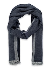 grey woollen stole -  online shopping for stoles