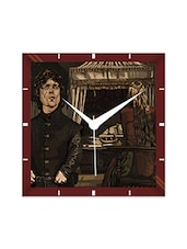 Multicolor Engineering Wood Game Of Thrones Tyrion Wall Clock - By