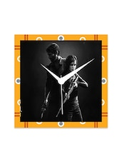 Multicolor Engineered Wood The Last Of Us Wall Clock - By