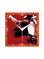 Multicolor Engineered Wood MJ Paint Wall Clock - By