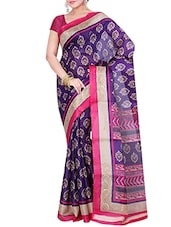 multi georgette saree -  online shopping for Sarees