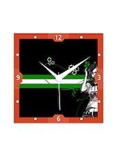 MusicGirl Detailed Wall  Clock - By