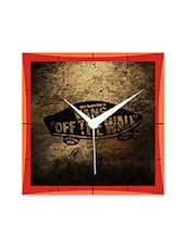 Vans Of The Detailed Wall  Detailed Wall  Clock - By