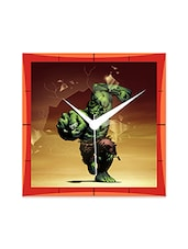 Super Heroes Detailed Wall  Clock - By