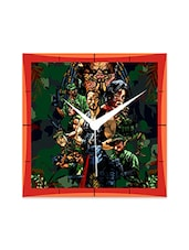 Predator Arnold Detailed Wall  Clock - By