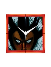 Scary Eyes Detailed Wall  Clock - By