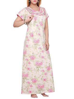 pink cotton maternity wear -  online shopping for maternity wear