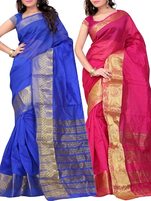 Buy 1 Get 2 Free On Sarees