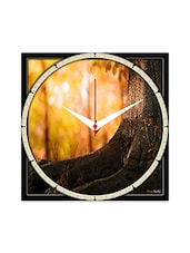 Multicolor Engineering Wood  Wall Clock - By