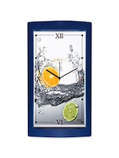 Lemon And Orange Detailed Wall Clock - By