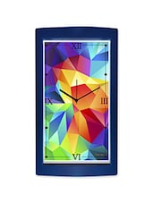 Geometric Pattern Detailed Wall Clock - By