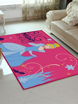 Disney- Athom Trendz- Princess- Cinderella- Carpet- 3ft x 5ft