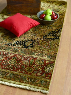 Brown Persian Style Rug - FLOOR DESIGNER
