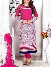 pink cotton salwar suits dress material -  online shopping for Dress Material
