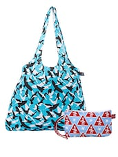 Multicolored Printed Cotton Set Of Bags - By - 1242513