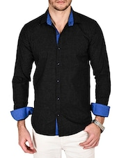 black cotton casual shirt -  online shopping for casual shirts