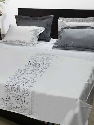 Embroidered Double Bedding set