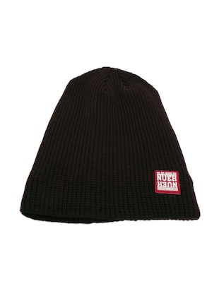 brown polyester cap
