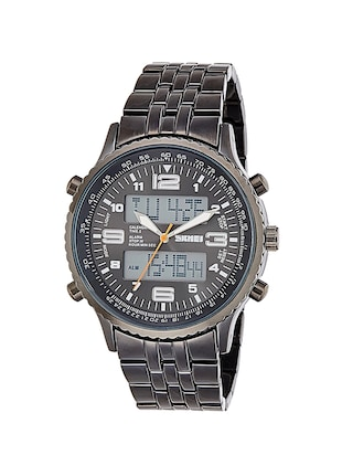 round dial silver digital watch -  online shopping for Digital watches