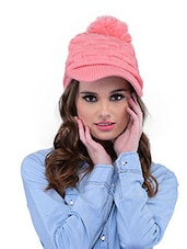 Pink Polyester Cap - By