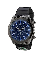 V8 Super Speed Black Dial Men's Analog Watch- V8-015-Blue -  online shopping for Analog Watches