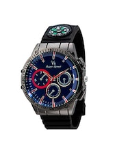 V8 Super Speed Black Dial Men's Analog Watch- V8-016-RED -  online shopping for Analog Watches