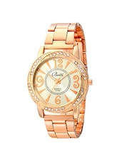 Botti Rose Gold Dial Analog Watch for Women -BOT-0022 -  online shopping for Wrist watches