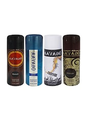Good Fragrance Pack Of 4 Ogavaa Deodorants For Men -  online shopping for Deodorants