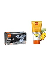 VLCC Diamond Facial Kit With Free VLCC Matte Look Sun Screen Lotion SPF 30 |PA+++ Worth Rs 95/- - By