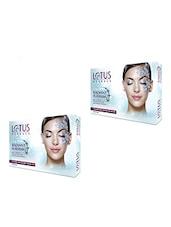 Lotus Herbals Radiant Platinum Cellular Anti Ageing Facial Kit( Pack Of 2) - By